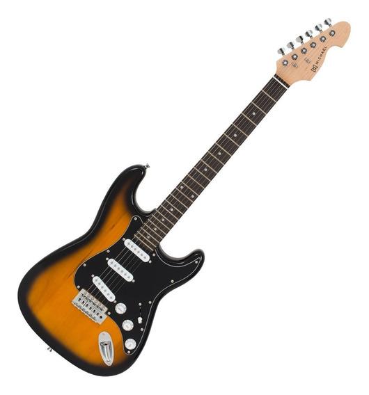 Guitarra Strato 6 Cordas 22 Trastes - Gm 217 N Sk Michael
