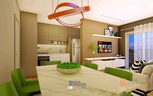 Apartamento À Venda, 58 M² Por R$ 185.000,00 - Santa Catarina - Caxias Do Sul/rs - Ap0312