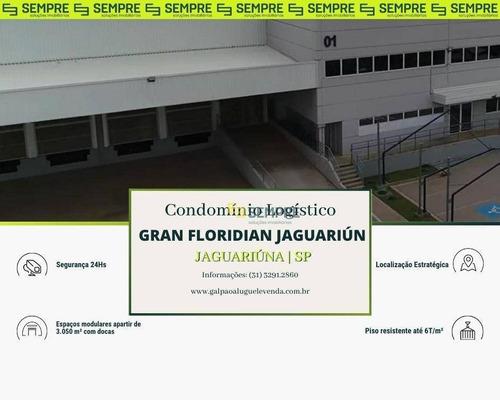 Imagem 1 de 16 de Galpão Para Alugar Em Jaguariúna/sp - Ga1075
