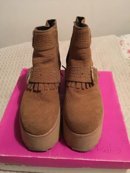 Zapatos Sofia De Grecia Camel