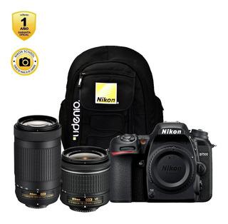 Cámara Nikon D7500 + 18-55 + 70-300mm Vr