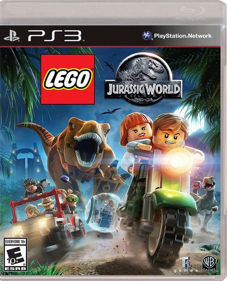 Lego Jurassic World Ps3 - Mídia Física   Garantia Playgorila