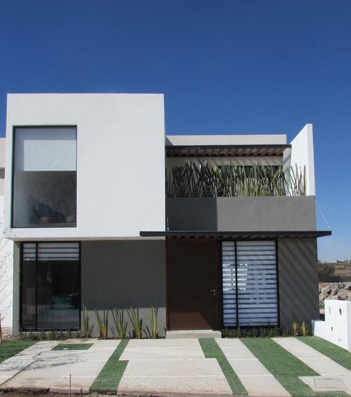 Preciosa Casa - Cañadas Del Lago, Recámara En P.b Acabados Premium, Terreno 160m