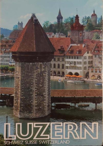 Tarjeta Postal Luzern 1981