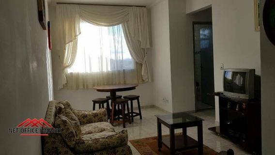 Apartamento Com 2 Dormitórios Para Alugar, 55 M² Por R$ 1.380/mês - Jardim América - São José Dos Campos/sp - Ap1923