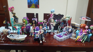 Set De Juego De Muñecas De Monster High