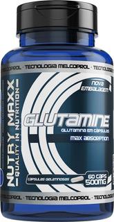 Glutamina Nutrimaxx 500mg Aumenta Massa Muscular Melcoprol