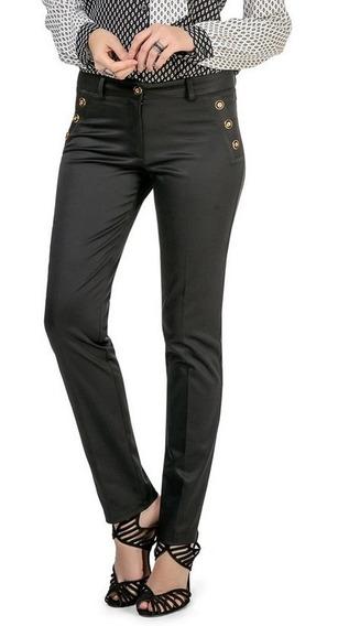Calça Social Feminina Cintura Alta Reta Plus Size 42 Até 50