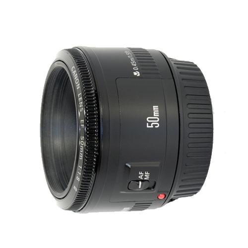 Lente Canon Ef 50mm F1.8 Stm Aps-c Y Full Frame Compatible