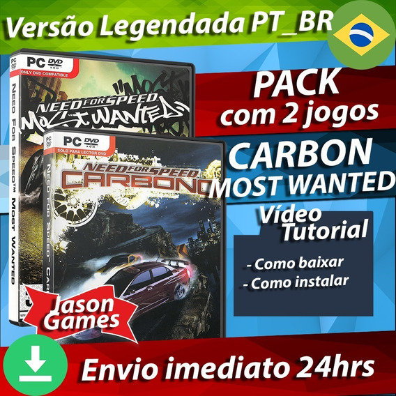 Need For Speed Most Wanted + Carbon Pc -envio Digital