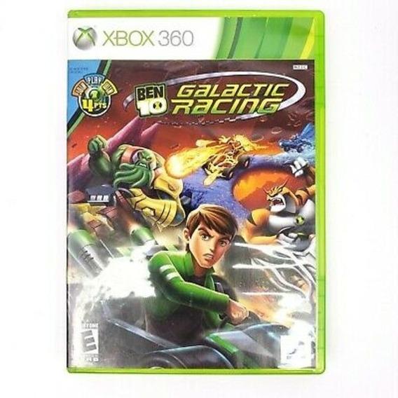 Ben 10 Galactic Racing Xbox 360 Mídia Física Usado
