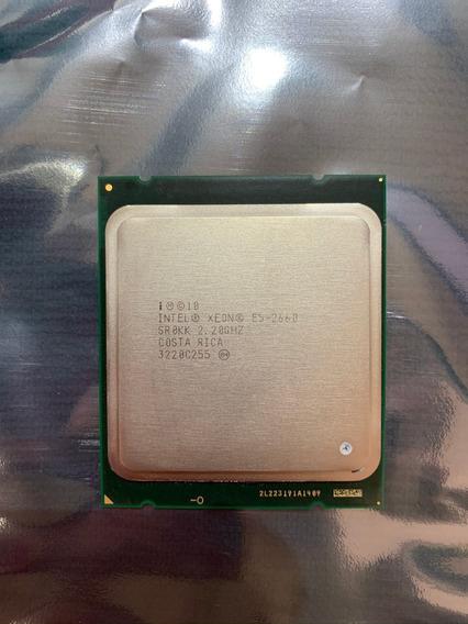 Processador Intel Xeon E5-2660 Sr0kk 2.20ghz Octa