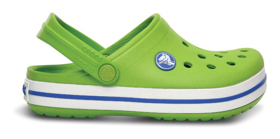 Crocs Originales Crocband Verde Unisex Hombre Mujer