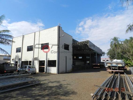 Galpão Industrial À Venda, Betel, Paulínia. - Ga0769