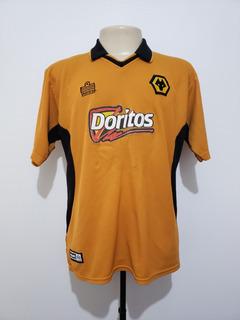 Camisa Oficial Wolverhampton Inglaterra 2002 Home Admiral G