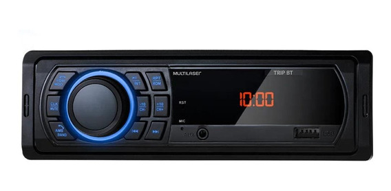 Som automotivo Multilaser Trip P3350 com USB e bluetooth