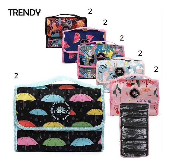 Portacosmetico Trendy Art. 9984 Nylon 100% Desplegable