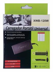 Carregador Portátil Universal Para Notebook Xwb-120w