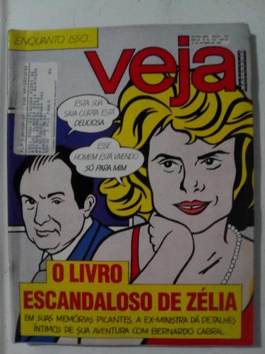 Revista Veja 1205 Zelia Faustão Pala João Paulo Alcione 1991