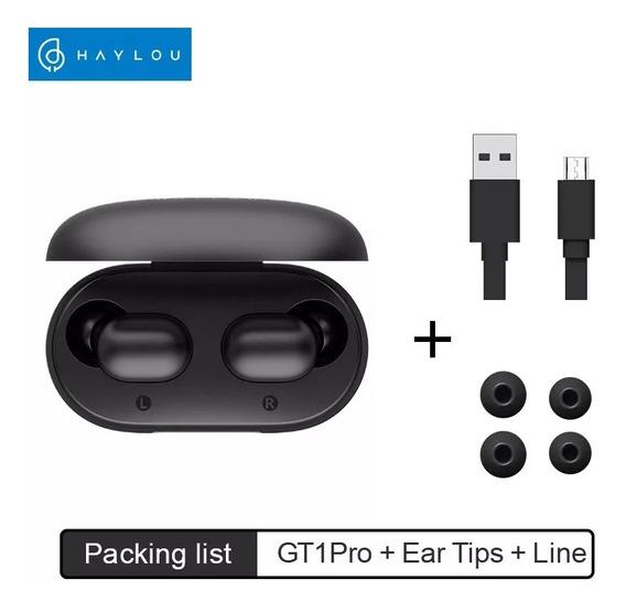 Earphone Bluetooth Xiaomi Haylou Gt1 Pro - Pronta Entrega