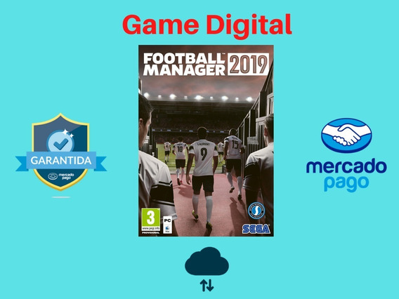 Football Manager 19 Mídia Digital Pc