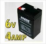 Bateria 6v 4a Para Balanças