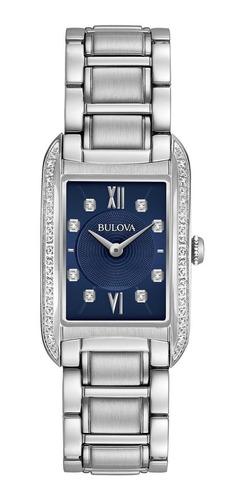 Bulova Diamond 96r211 Reloj Mujer 22mm