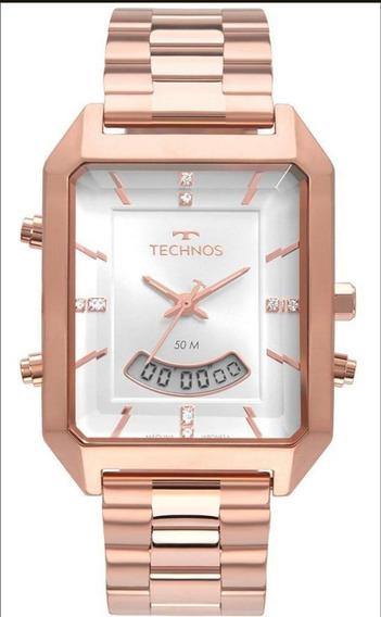 Relógio Technos Feminino Digital Rosé