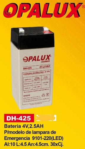 Imagen 1 de 1 de Dh425 Bateria Seca 4v 2.5ah Opalux