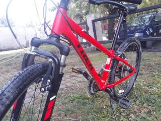 Bicicleta Mountain Bike NiñosTrek Precaliber 21 Velocidades