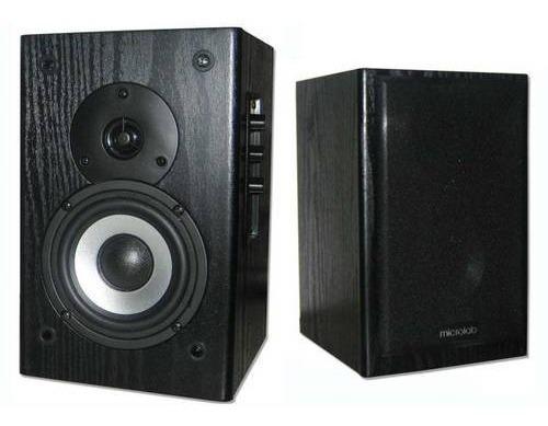 Monitor De Audio Microlab Ativos B72 24w Rms 2.0