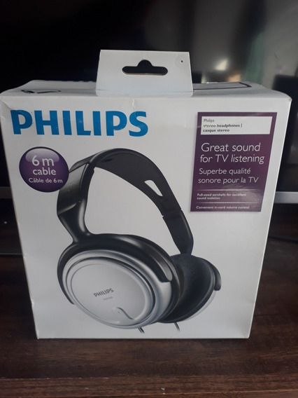 Fone De Ouvido Philips Shp2500 10 Lacrado