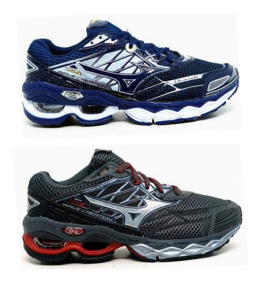 Tenis Kit 2 Pares Wave Creation 20 Masculino