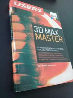 Animación 3d Max Master Libro Users Martin Aranguren