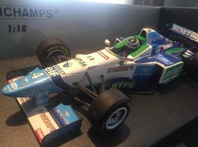 Benetton B196 Gerhard Berger Minichamps 1/18