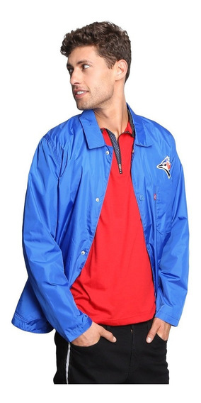 Impermeable Levi´s Blue Jays Producto Oficial Mlb Original