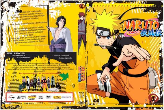 Combo Naruto Classico E Shippuuden