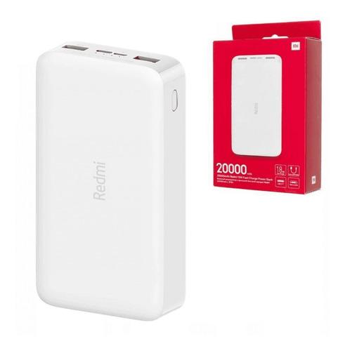 Power Bank Xiaomi Redmi 20000 Carga Rapida Tipo C/micro Usb