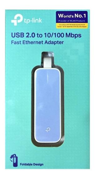 Adaptador Tp Link Usb 2.0 A Rj45 Fast Ethernet 10/100 Mbps