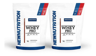 Combo 2 Whey Pro 1kg Newnutrition