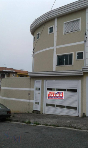 Imagem 1 de 18 de Sobrado Com 3 Dormitórios À Venda, 147 M² Por R$ 600.000,00 - Parque Jaçatuba - Santo André/sp - So0238