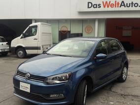 Volkswagen Polo 1.6 Startline Std De Planta 2018 Azul Seda
