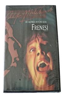 Alfred Hitchcock Frenesi Pelicula Vhs Nueva 2000 Cic Mexico