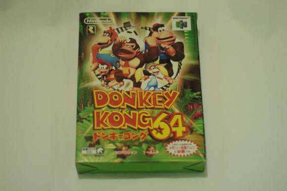 Donkey Kong 64 Original Japones Nintendo 64 Frete Gratis