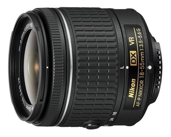 Lente Nikon Af-p Dx 18-55mm F/ 3.5-5.6g Vr
