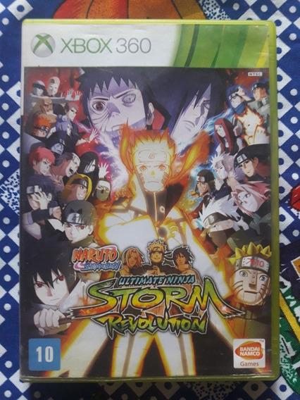 Naruto Shippuden Ultimate Ninja Storm Revolution Xbox 360 Pt