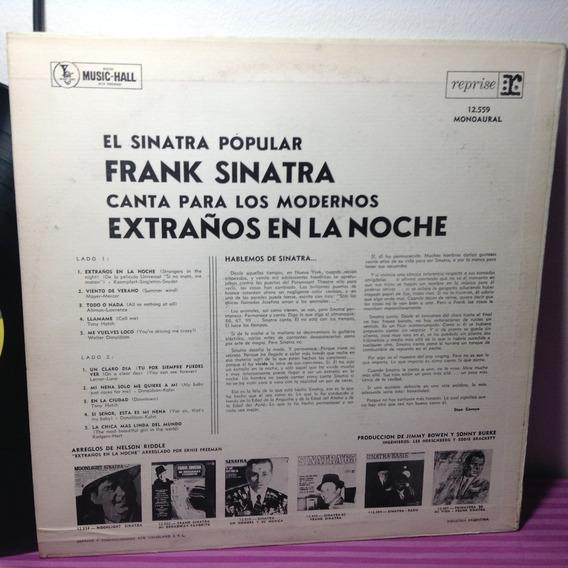 Frank Sinatra Extraños En La Noche Lp Vinilo
