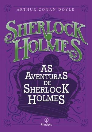 Livro Sherlock Holmes As Aventuras De Sherlock Holmes