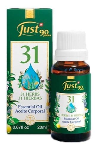 Imagen 1 de 6 de Aceite Esencial Oleo 31 Just 20ml Original + Envío Gratis