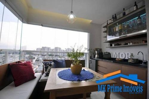 Imagem 1 de 15 de Lindo Apartamento  82 M² Com 2 Dormitórios Sendo 1 Suíte Em Osasco! - 2274